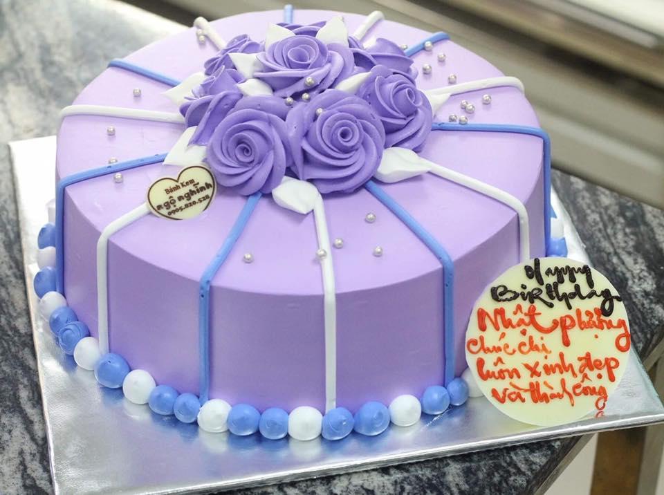 Mẫu bánh kem ngộ nghĩnh sinh nhật sang trọng bông hoa đẹp ...  Mẫu bánh kem...