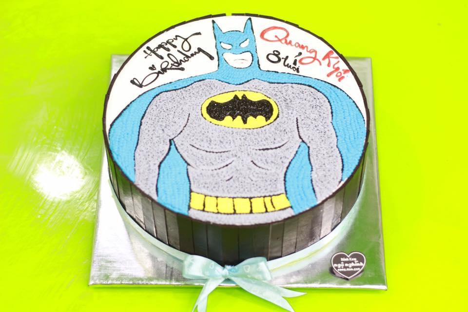Em Sinh Doi Nam: Bánh Kem đẹp Lạ Tạo Hình Batman độc đẹp Lạ Ngộ Nghĩnh