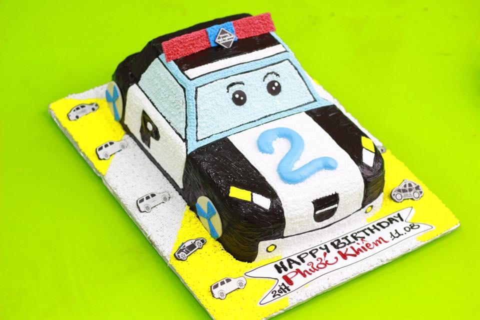 Kết quả hình ảnh cho banhánh kem xe ô tô cảnh sát