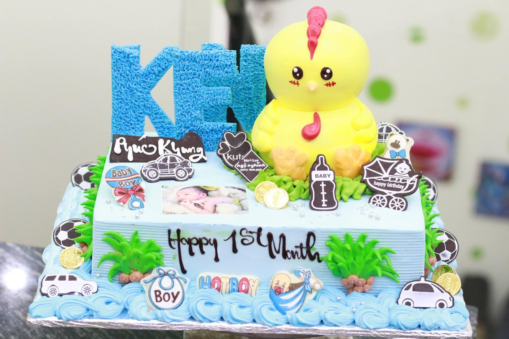 Bánh sinh nhật in ảnh ...