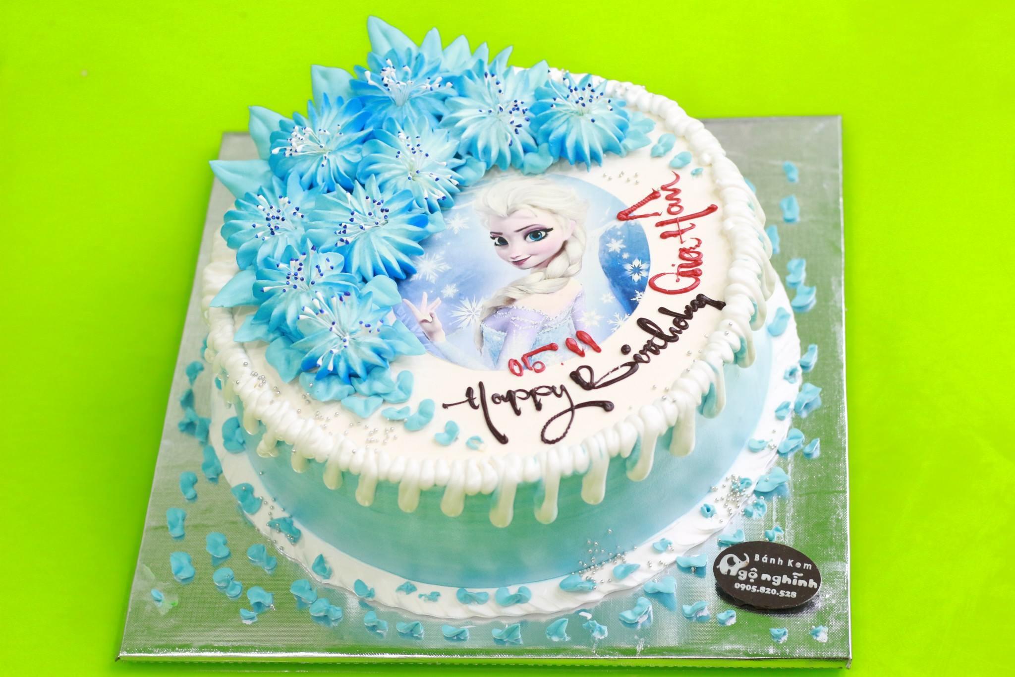 Bánh kem sinh nhật in hình công chúa ...